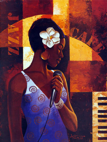 Jazz Cafe by Keith Mallett