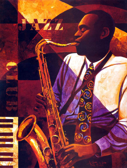 Jazz Club by Keith Mallett