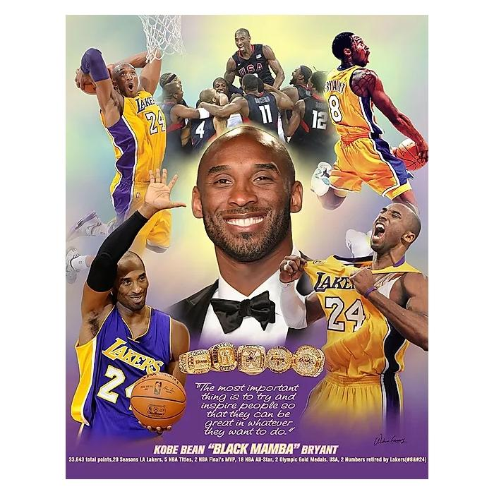 Kobe Bryant: Inspire People by Wishum Gregory