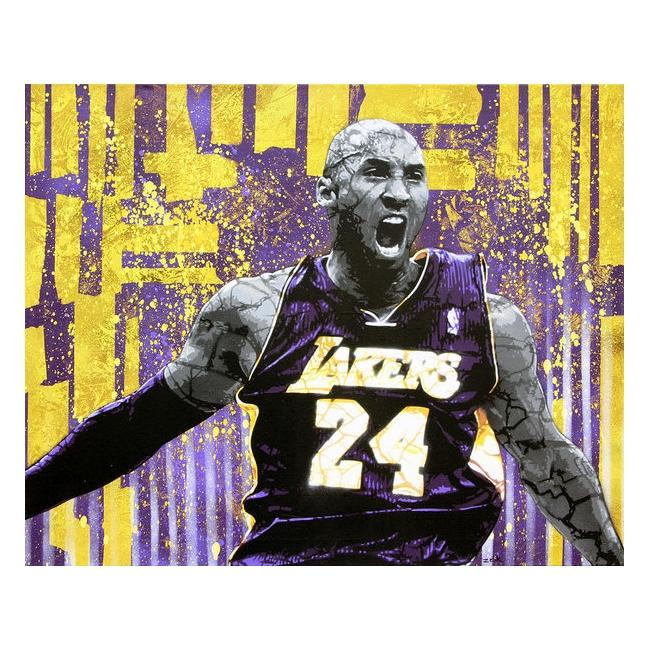 Kobe Bryant the Destroyer by Bobby Zeik
