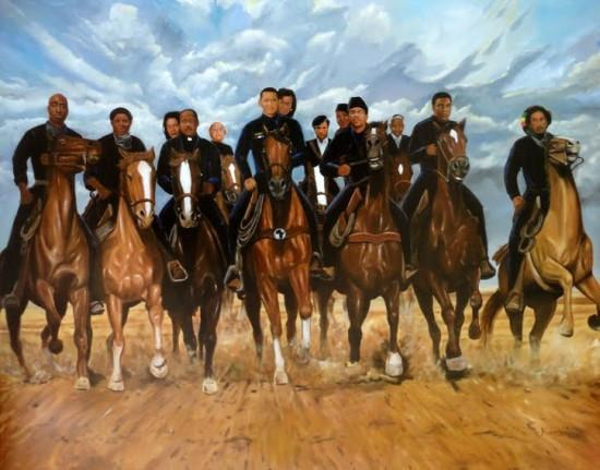 Freedom Riders by Kolongi Brathwaite (Art Print)