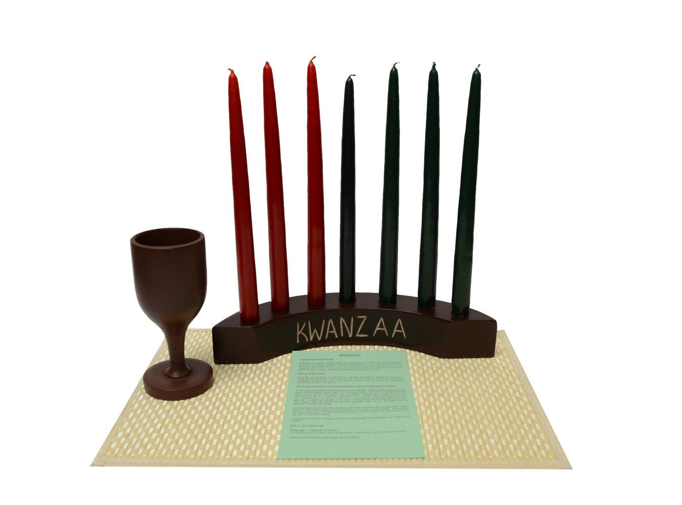 Kwanzaa Arc Celebration Set (Brown)