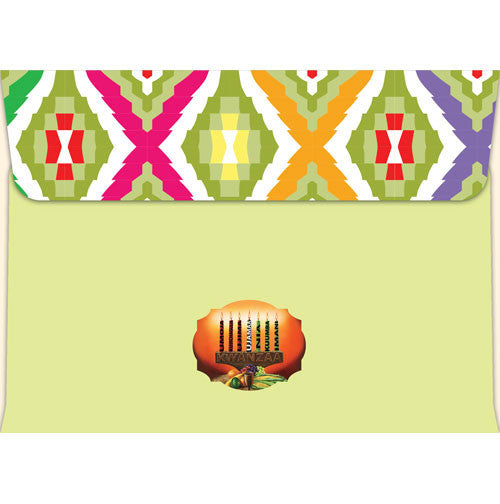 Kwanzaa kinara kwanzaa greeting card w printed envelope box set kwanzaa kinara kwanzaa greeting card matching envelope m4hsunfo