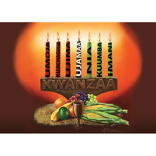 Kwanzaa Kinara: Kwanzaa Greeting Card Box Set