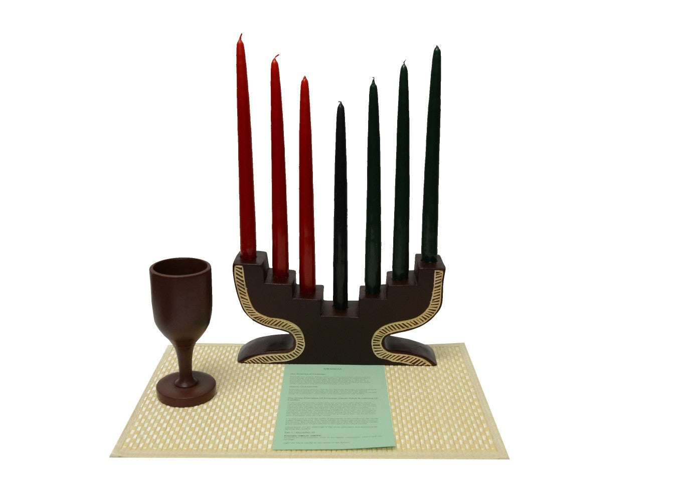 Classic Kwanzaa Step Celebration Set (Handmade in Ghana)