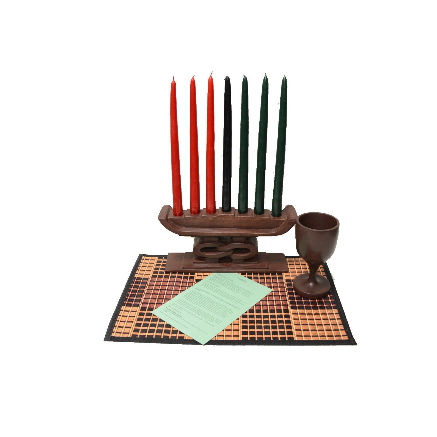 Kwanzaa Unity Celebration Set (Hand Made in Ghana)