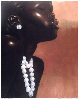 Pearl Necklace by Laurie Cooper