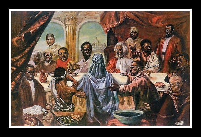 The Last Supper Great African Americans By Cornell Barnes