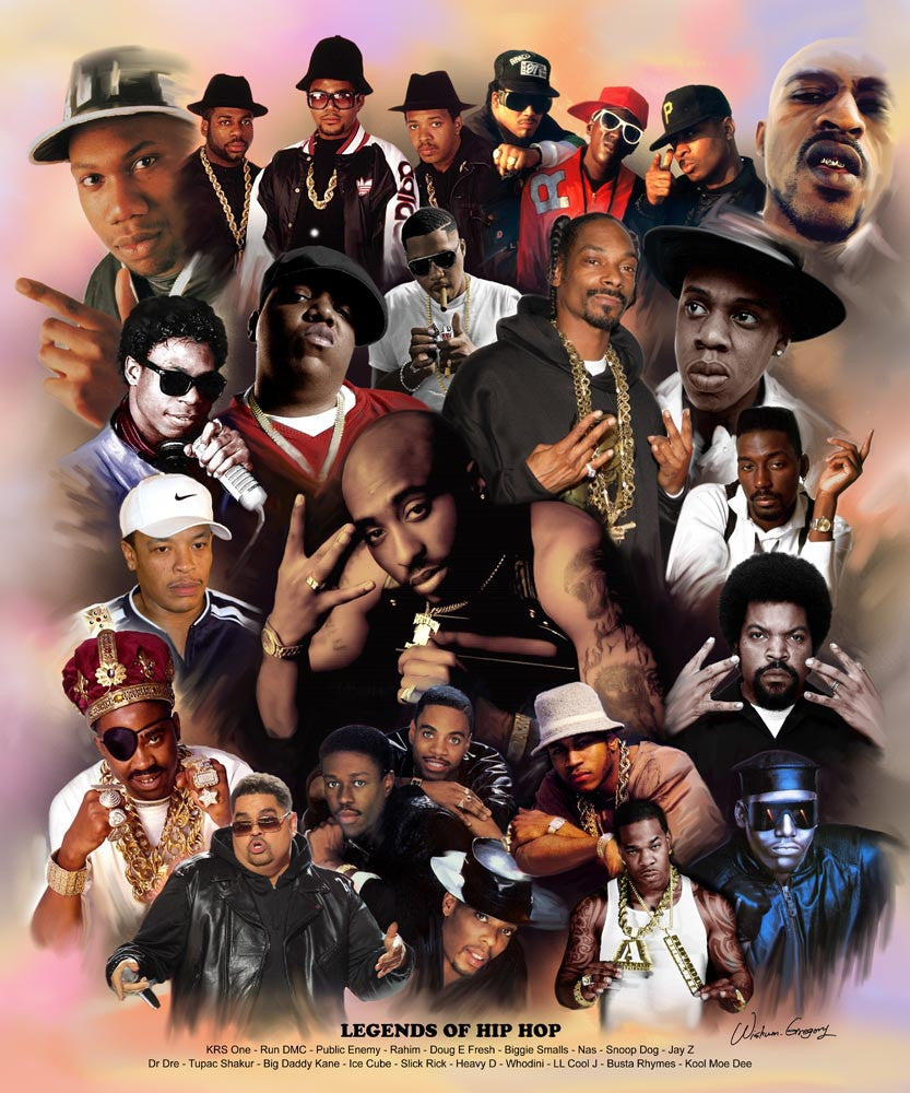 Legends of Hip Hop by Wishum Gregory