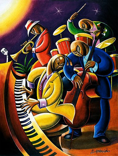 Jam Session by Lester Kern