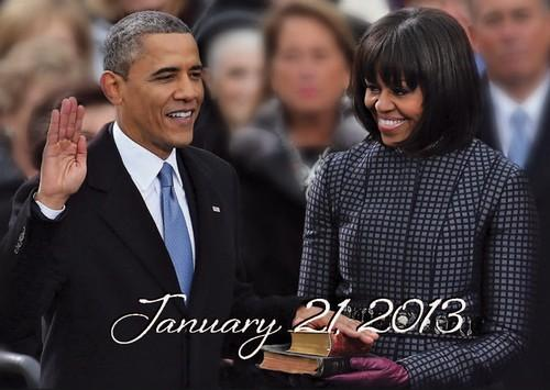 Barack Obama Inauguration (2013): African American History Magnet by Shades of Color