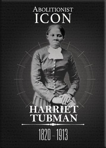 Harriet Tubman (Modern Day Icon): Black History Magnet by Shades of Colo