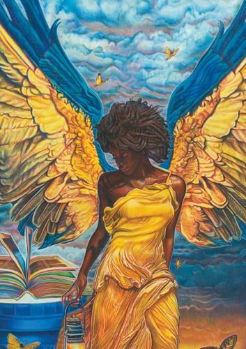 Angelic Guidance: Buena Johnson Magnets by Shades of Color