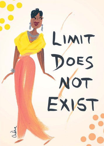 Limit Does Not Exist Magnet by Cidne Wallace