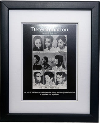 Determination: Little Rock Nine by D'azi Productions (Framed)