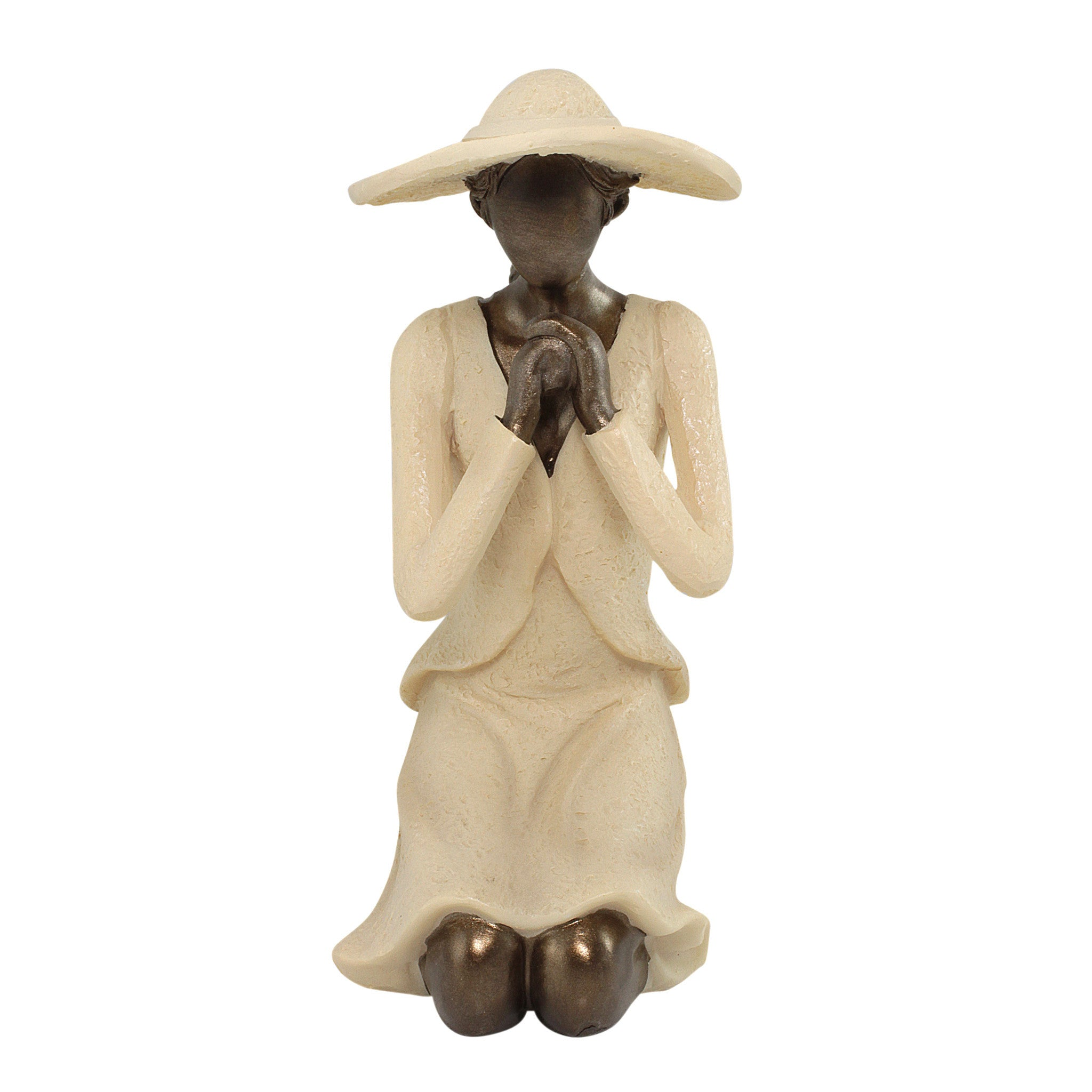 Give Me Strength Figurine: Virtuous Woman Collection by Unison Gifts