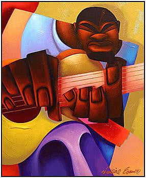 Mo' Guitar by Maurice Evans