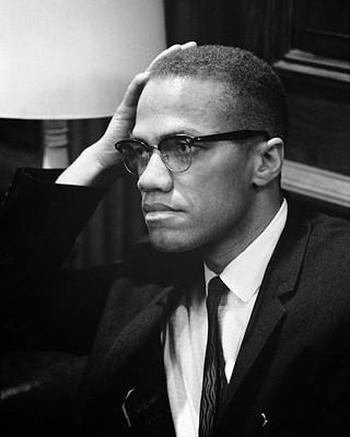 Malcolm X Photo Poster (Visit to Washington D.C. in 1964)
