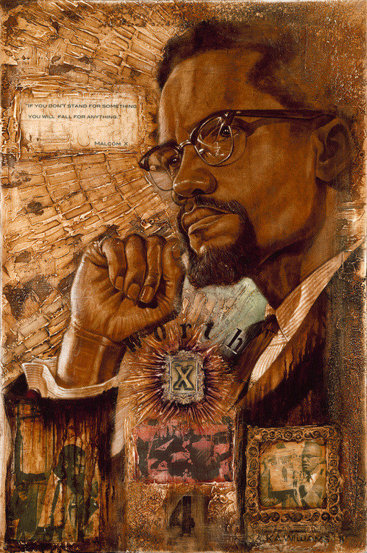 Malcolm X by K.A. William II