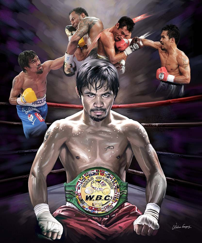"Manny ""Pac Man"" Pacquiao by Wishum Gregory"
