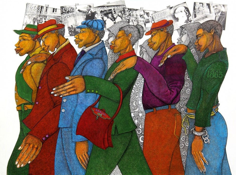 Marching in the Spirit by Charles Bibbs