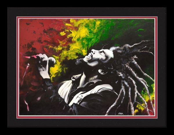 Bob Marley By Cecil Quot Creed Quot Reed The Black Art Depot