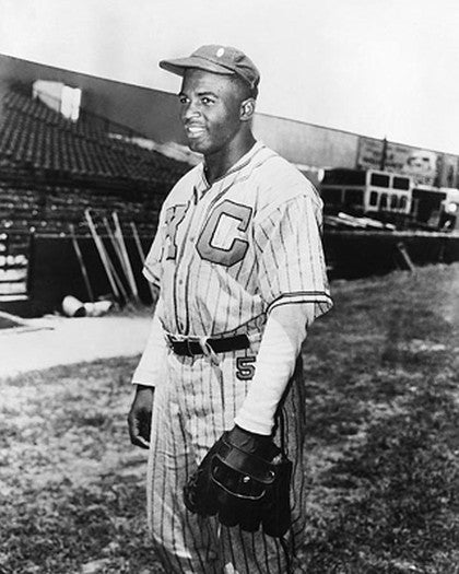 Jackie Robinson: Kansas City Monarchs by McMahan Photo Archive