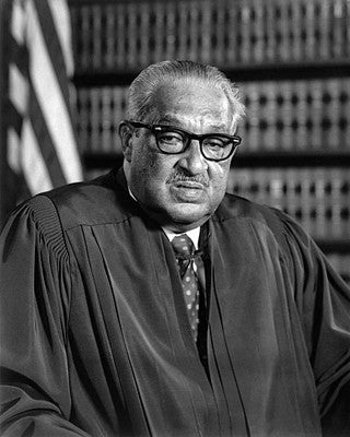 Supreme Court Justice Thurgood Marshall in 1976 by McMahan Photo Archive