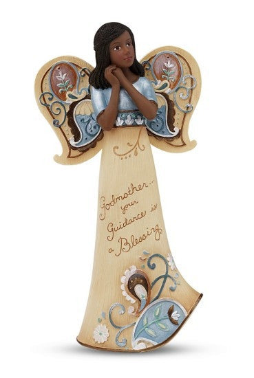 African American Godmother Angel: Perfect Paisley Collection by Pavilion Gifts