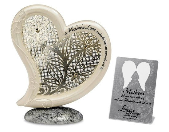 Mother's Love Heart Plaque: Little Things Mean Alot Collection by Pavilion Gifts