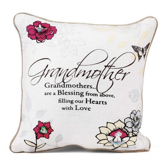 Grandmother Pillow: Mark My Words Collection by Pavilion Gifts
