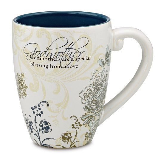 Godmother Mug: Mark My Words Collection by Pavilion Gifts