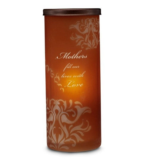 A Mother's Love Candleholder: Simply Stated Collection by Pavilion Gifts