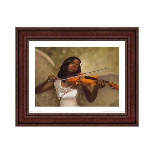 Melody from Heaven by Henry Battle (Brown Frame)