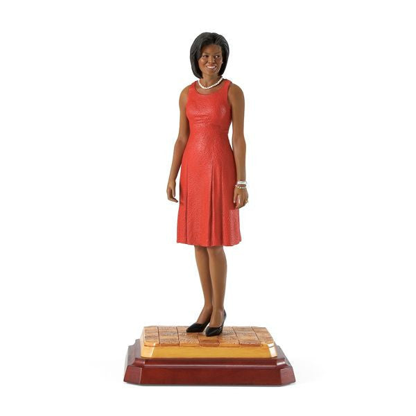 The First Lady (Red Dress): Michelle Obama by Thomas Blackshear