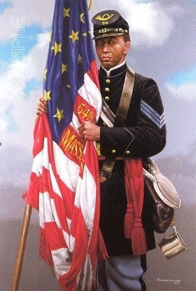 Sgt. Carney's Flag by Micheal Gnatek