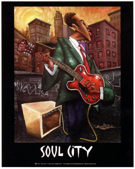 Soul City by Micheal Wallace