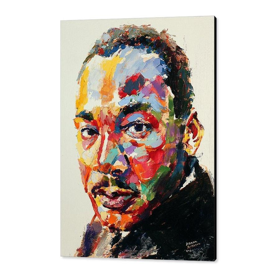 Rev. Dr. Martin Luther King Jr. by Derek Russell