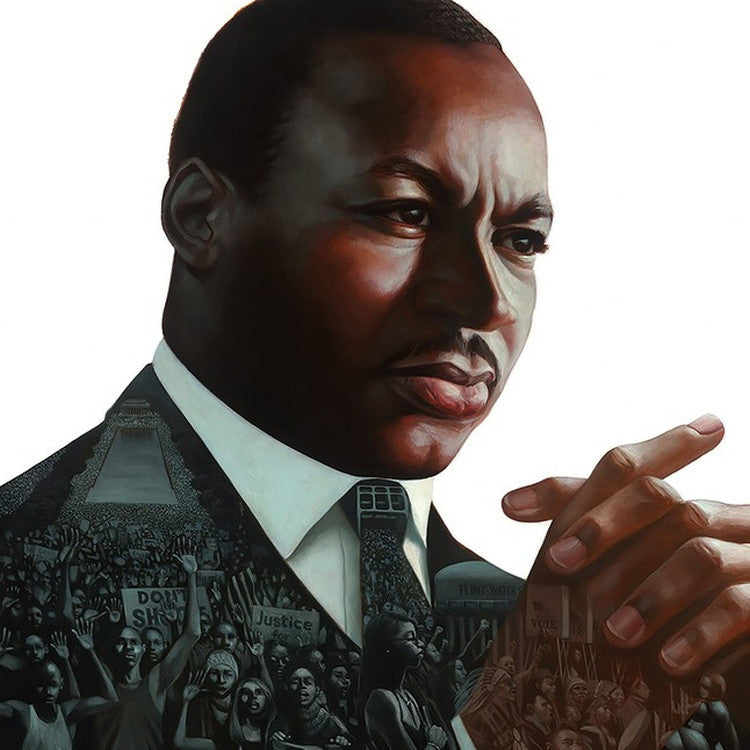 Dr. Martin Luther King Jr: A Dream Deferred by Kadir Nelson