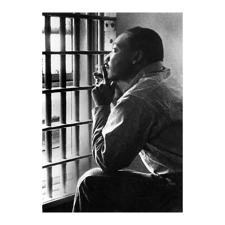Martin Luther King Jr. at The Birmingham Jail by The Everett Collection