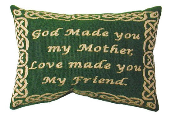 My Mother, My Friend Tapestry Pillow