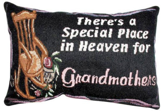 A Special Place in Heaven Tapestry Pillow