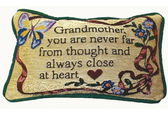 Close at Heart Tapestry Pillow