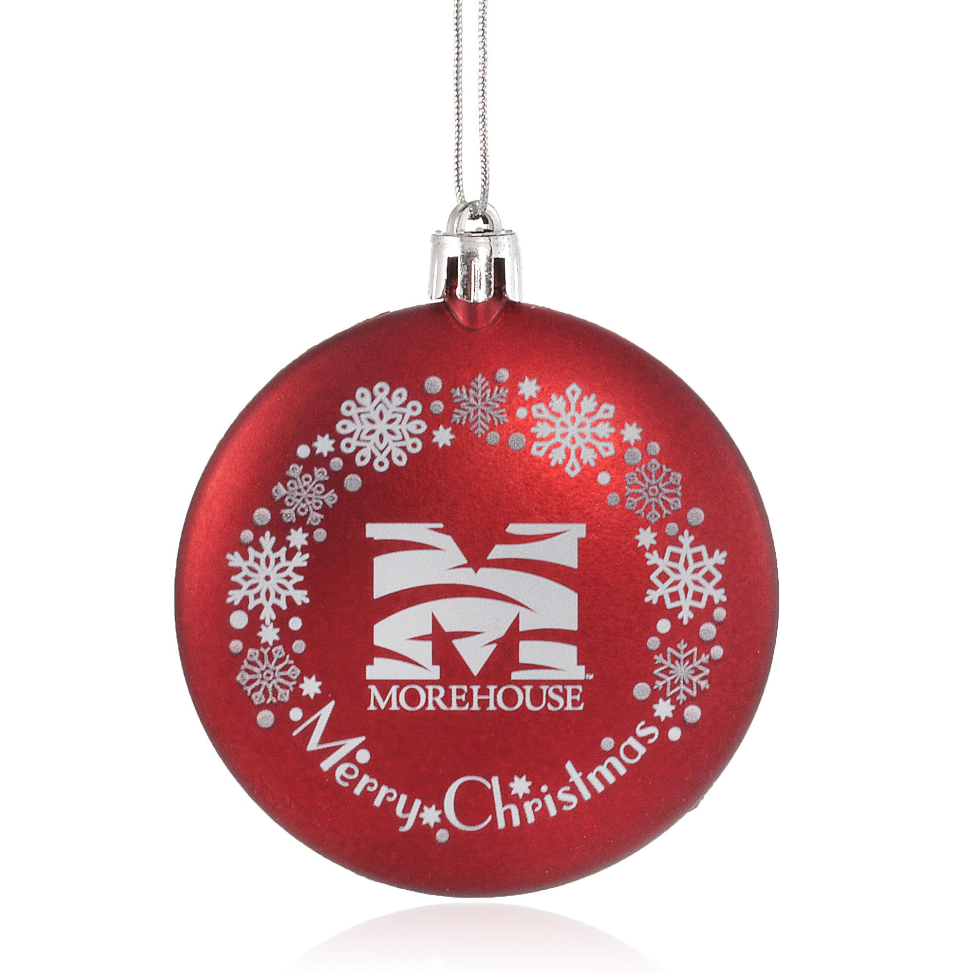 Morehouse College Maroon Tigers Christmas Ornament