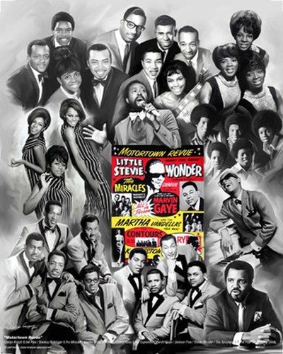 Motortown Revue: The Music of Motown by Wishum Gregory