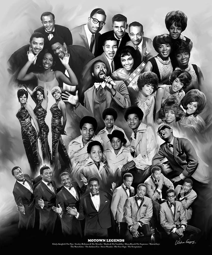 Legends of Motown: Tribute to Motown Records by Wishum Gregory