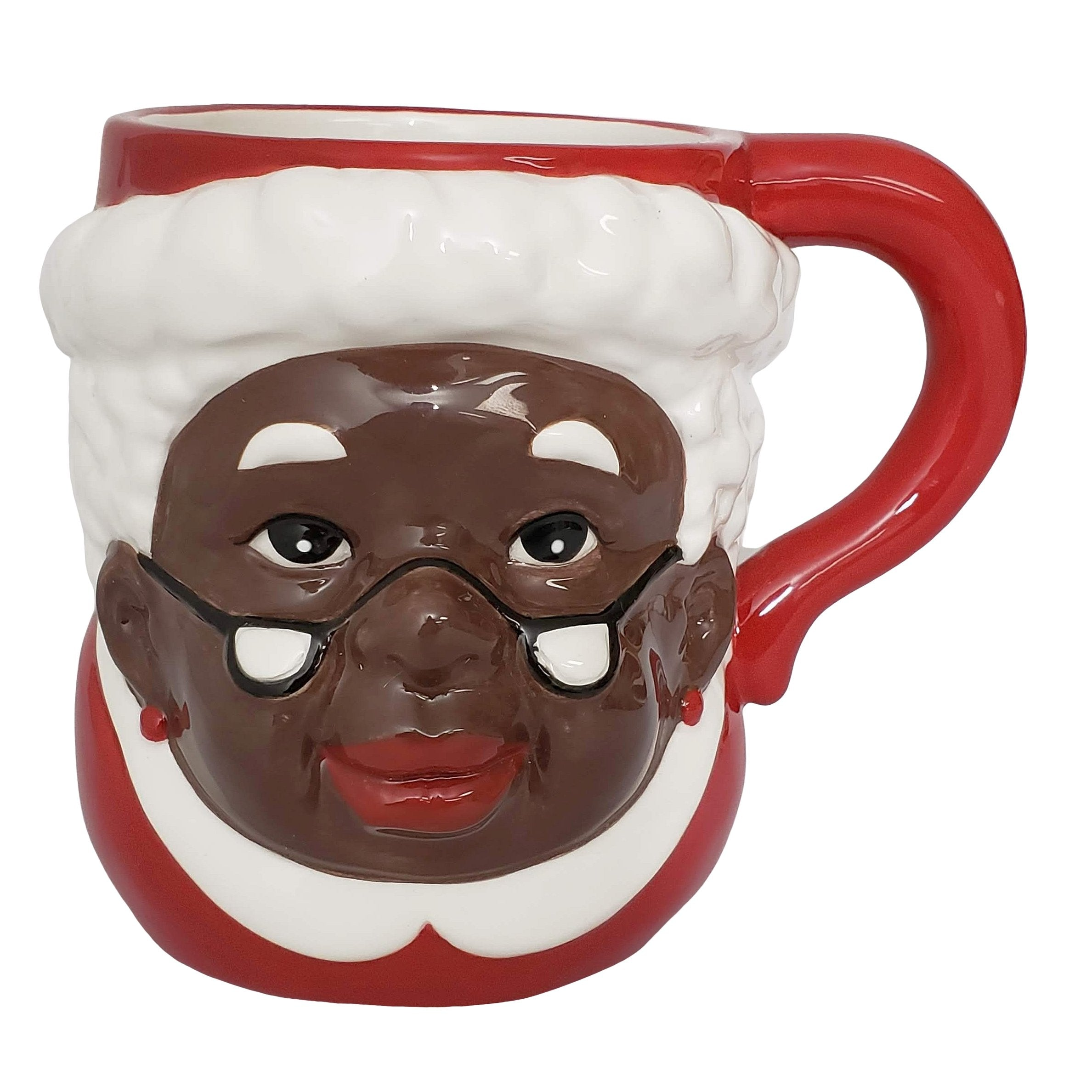 African American Mrs. Santa Claus Mug by Soulful Generations