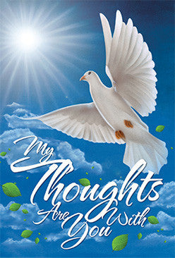 My Thoughts Are With You: African American Sympathy Card