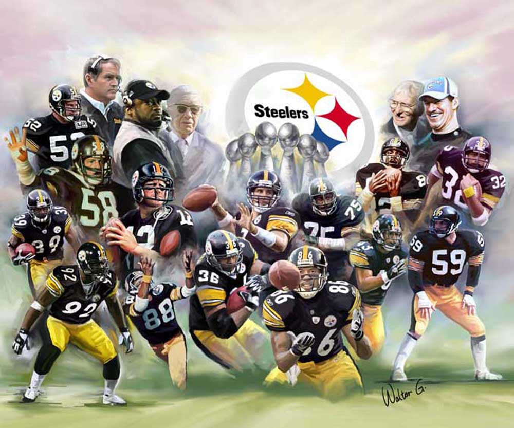 The Steel Curtain (Pittsburgh Steelers) by Wishum Gregory
