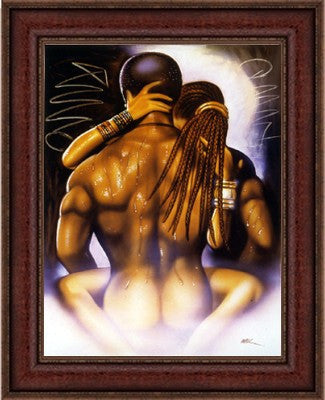"N'Luv by Kevin ""WAK"" Williams (Dark Cherry Frame)"